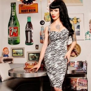Deadly Dames Vamp Dress Limited Edition